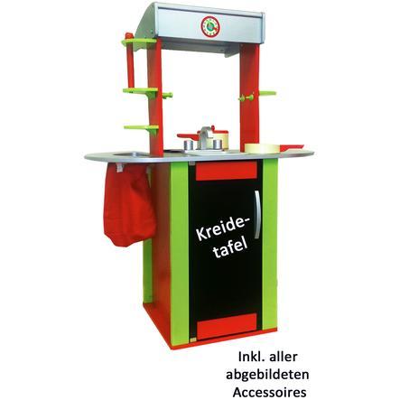 HAPE Spielküche - Oxybul Küche, rot/grün