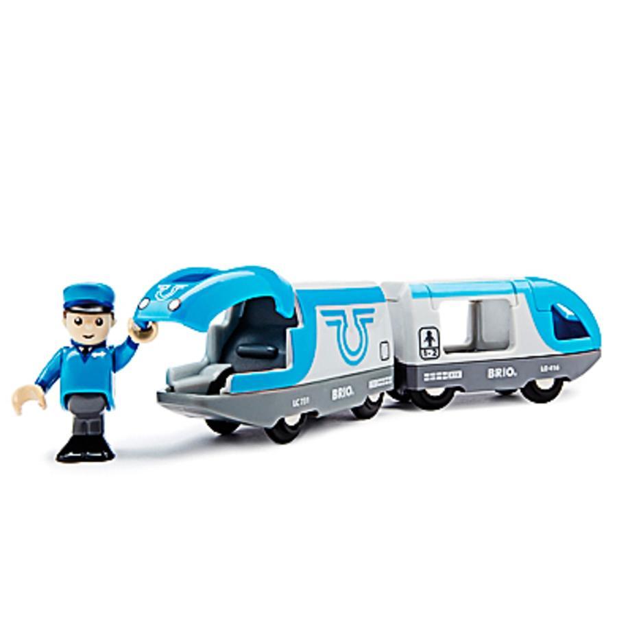 BRIO® WORLD Blauer Reisezug 33506