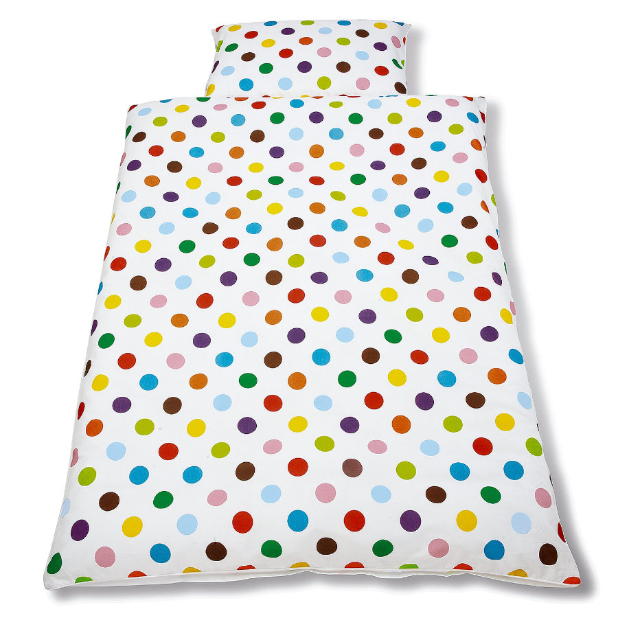 PINOLINO Draps de lit enfant, 2 pcs, Points