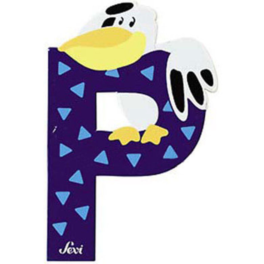 Sevi Dieren Letter P