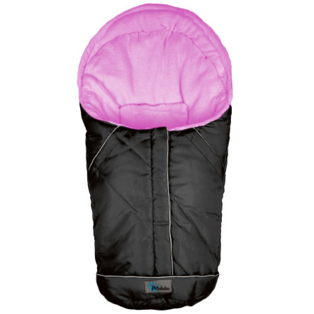 ALTA BÉBE Infant Seat Winter Footmuff VOYAGER (AL2003) black/pink - Black Emy, 2013/2014 collection