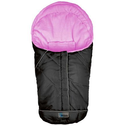 Altabebe Coprigambe a sacco invernale Nordic per seggiolino auto Gruppo 0+ nero-rosa