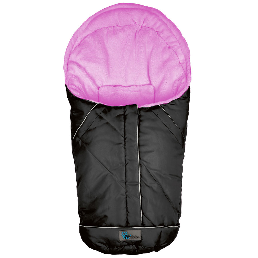 Altabebe Vinter Fotpose Nordic for babybilstol 0+ svart-rosa