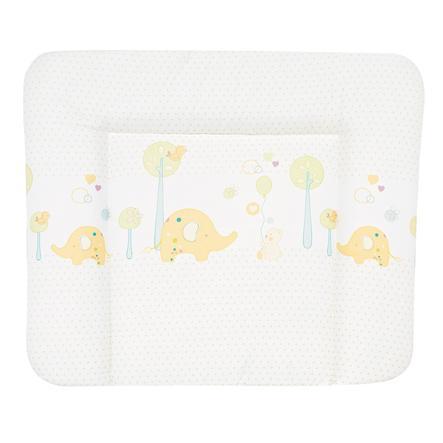 ALVI Rivestimento per materassino fasciatoio Molly - Zoo giallo