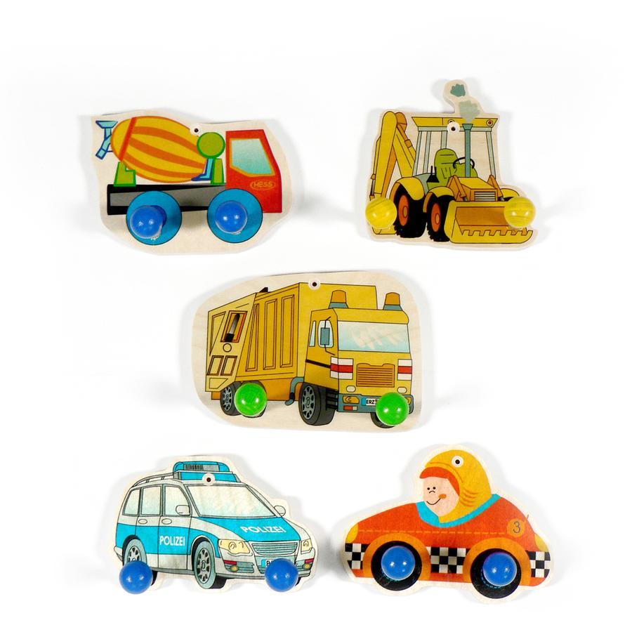 HESS Coat Rack - Vehicles