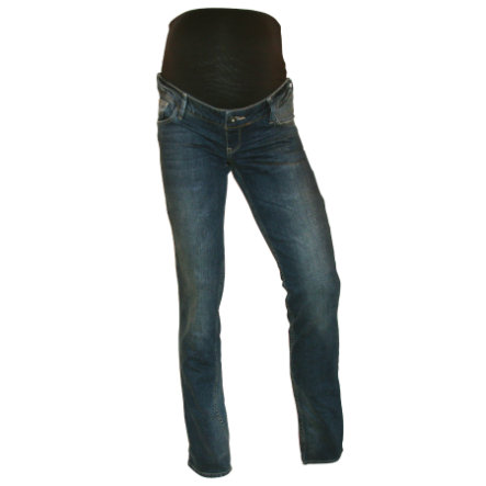 QUEEN MUM Jean de grossesse STRAIGHT LEG dark blue