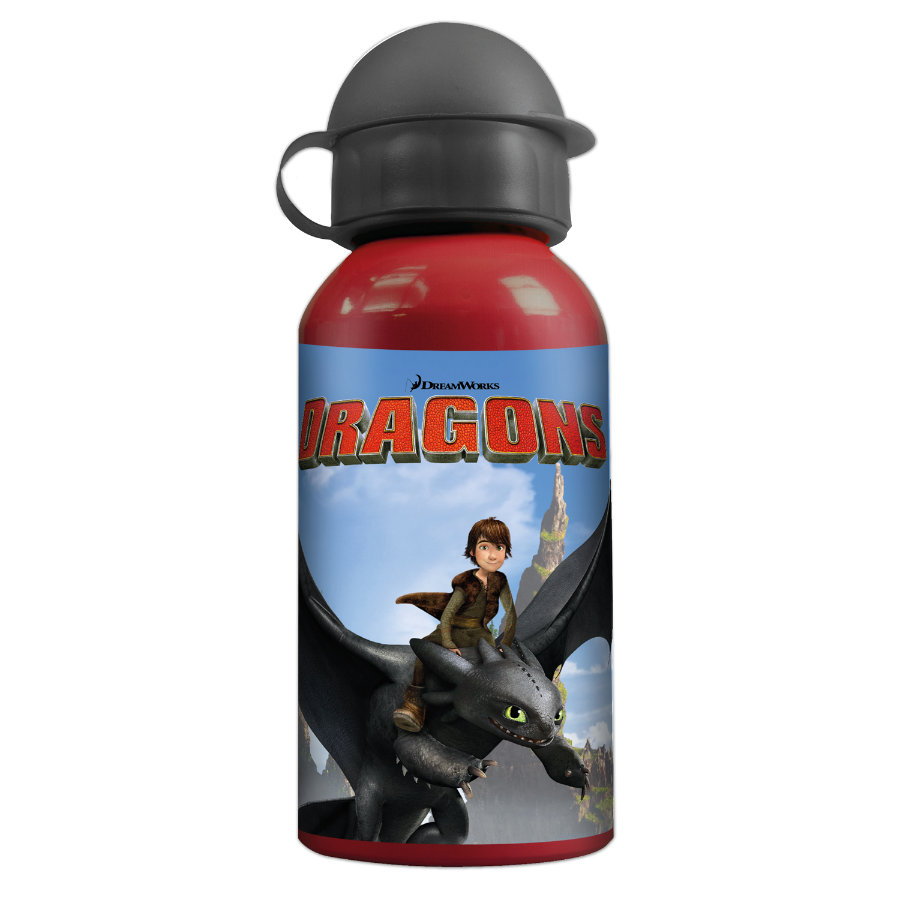 P:OS Alu-Trinkflasche Dragons
