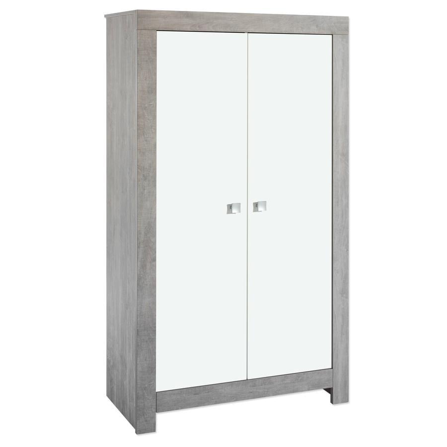 SCHARDT Nordic Driftwood 2-Door Wardrobe