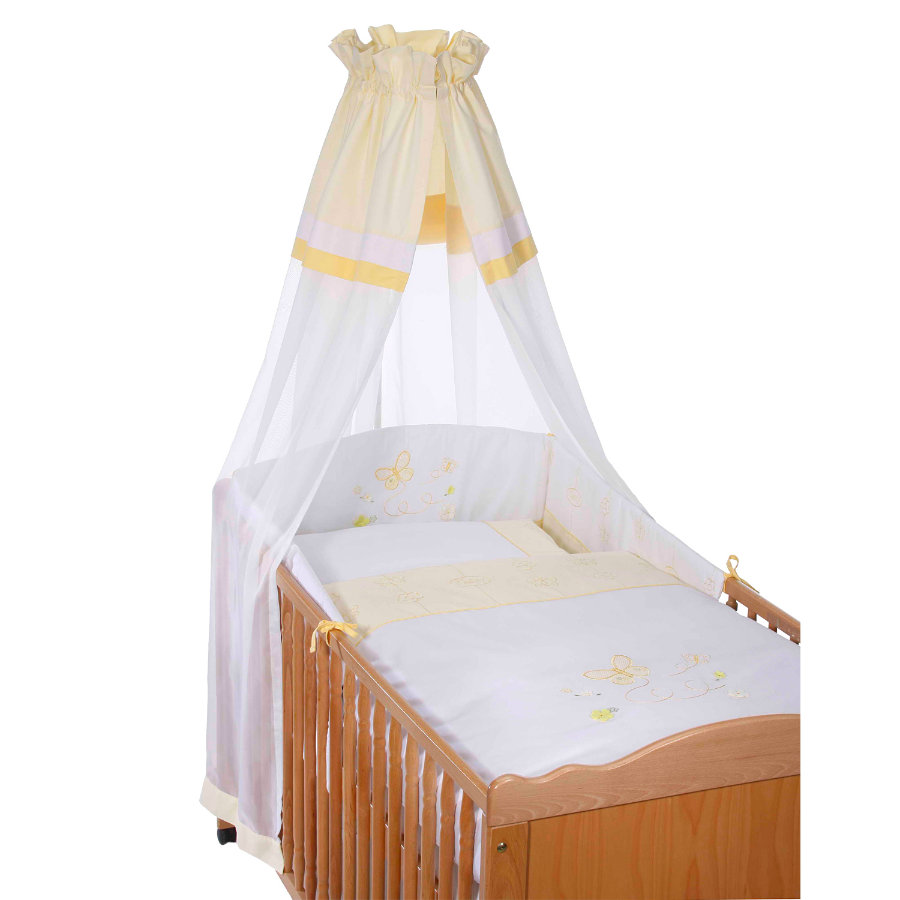 Easy Baby Sängset Butterfly Yellow (400-86)