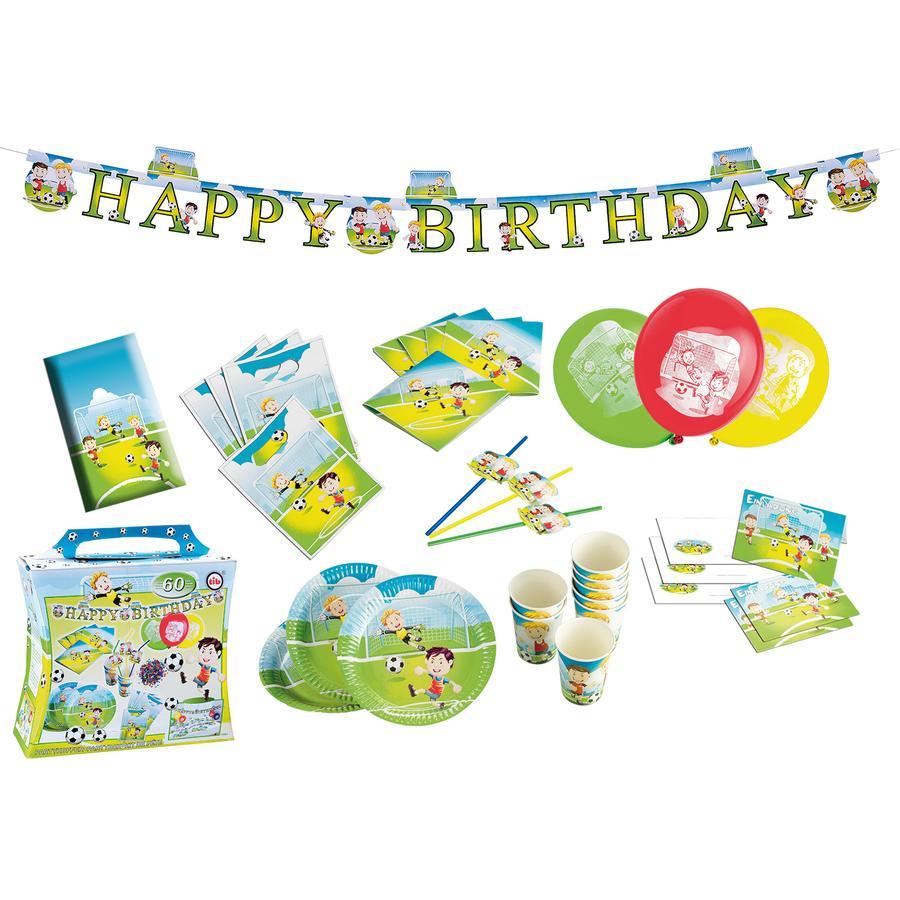 HAPPY PEOPLE Dekoracja urodzinowa Happy Birthday Piłka nożna