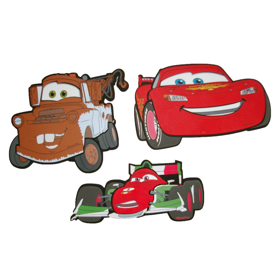 KAUFMANN Naklejki dekoracyjne 3D Auta - Cars