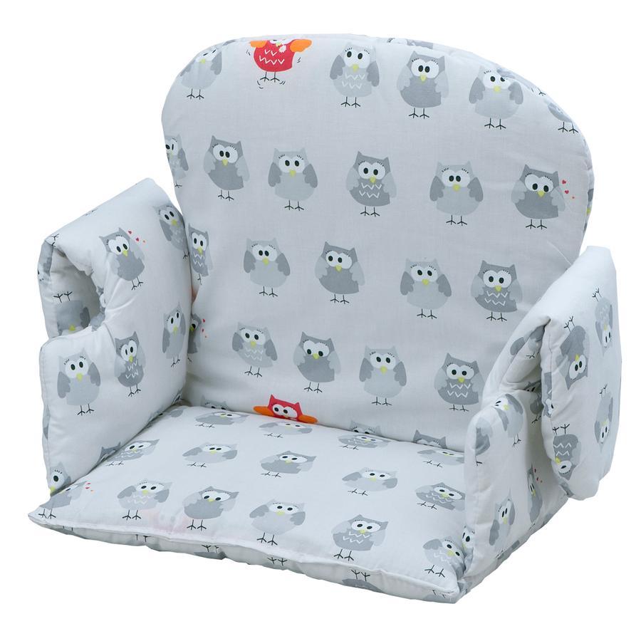 geuther Réducteur d'assise de chaise haute bébé universel hiboux