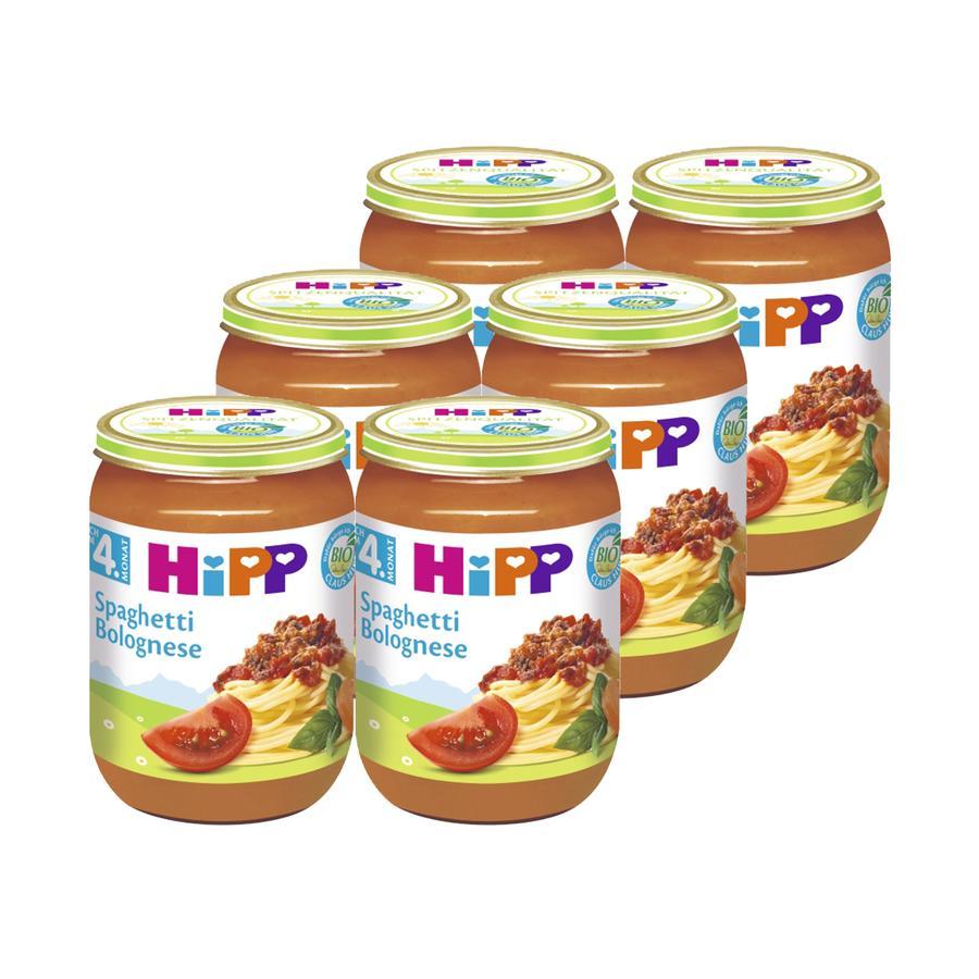 HiPP Bio Spaghetti Bolognese 6 x 190 g