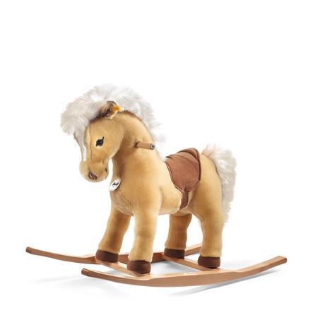 """STEIFF Hobbelpaard """"Pony Franzi"""" 70 cm blond"""
