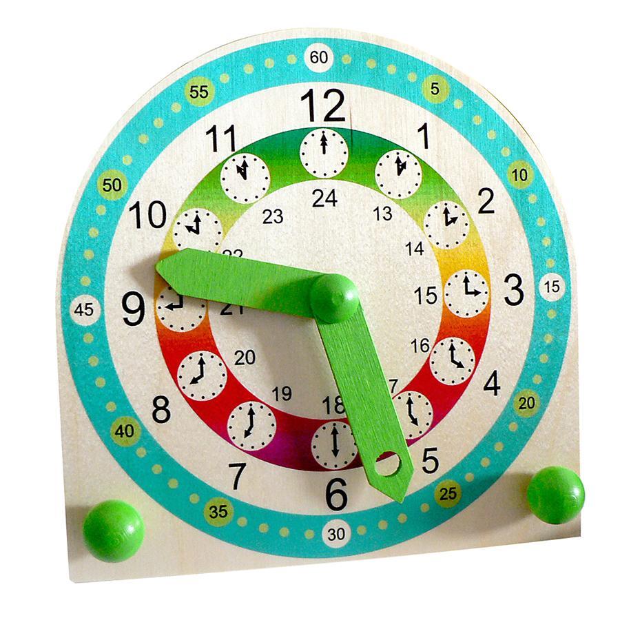 HESS Zegar do nauki odczytywania godzin