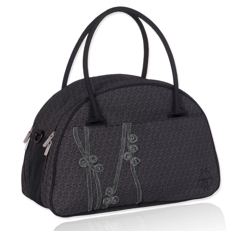 LÄSSIG Casual Shoulder Bag Ribbon black