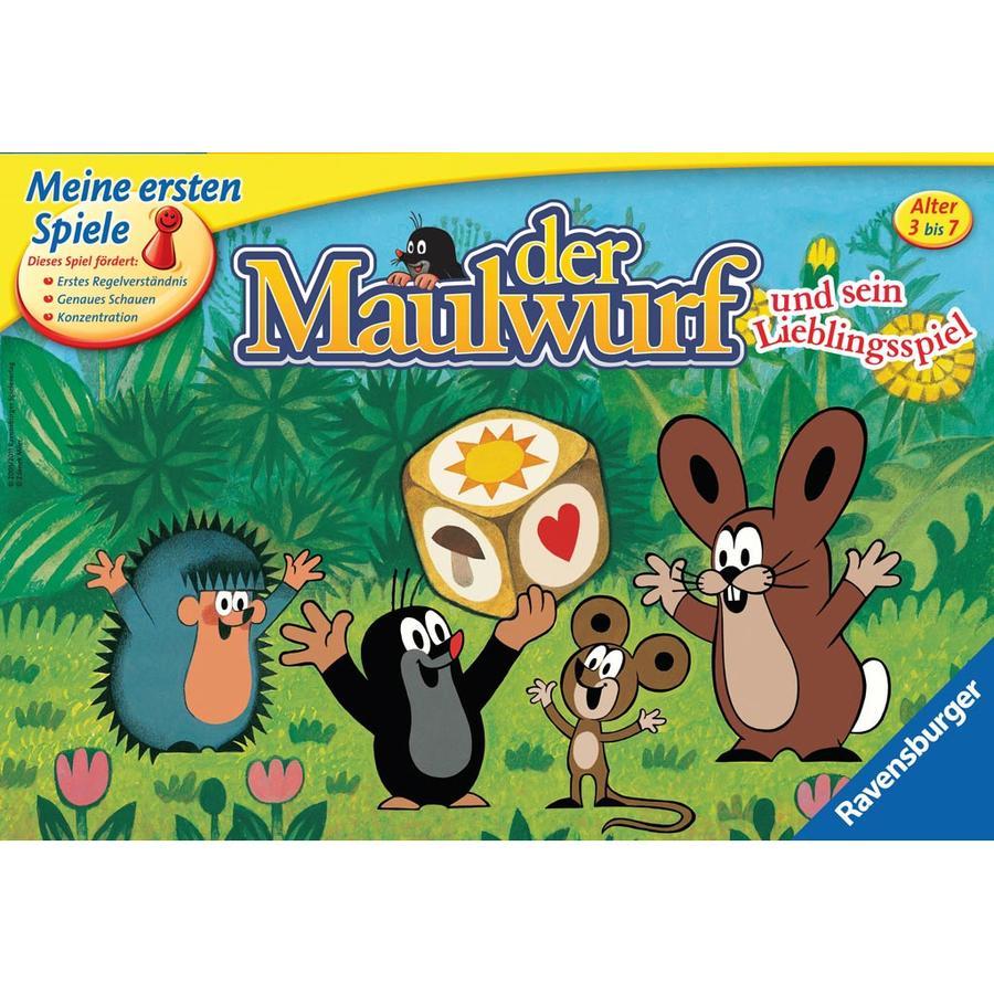 RAVENSBURGER Meine ersten Spiele Der Maulwurf und sein Lieblingsspiel