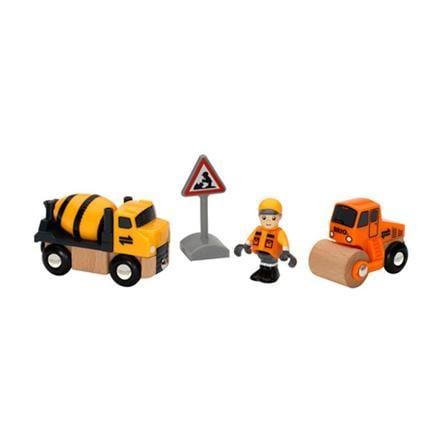 BRIO Zestaw pojazdów do robót drogowych