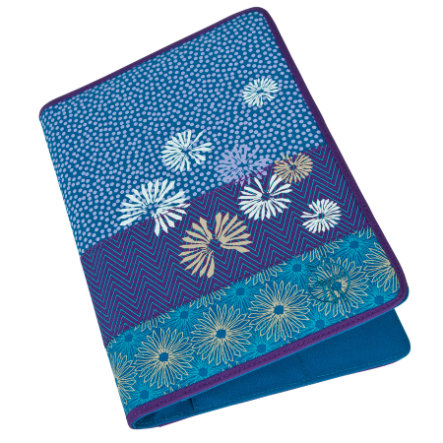 LÄSSIG Agenda Casual Bloom petrol