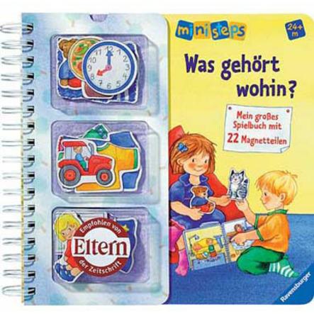 RAVENSBURGER ministeps Spielbuch - Was gehört wohin?