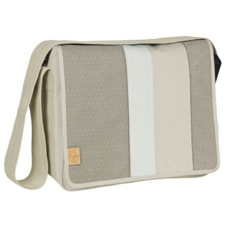 LÄSSIG Casual Messenger Bag Line-up sand