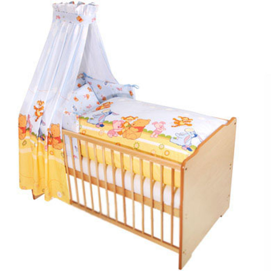 ZÖLLNER Baby Pooh and Friends Bed Linens Set