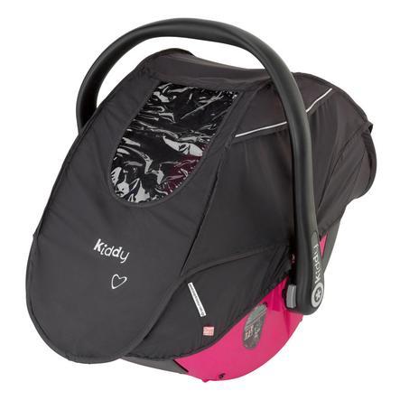 Kiddy Protection pluie-moustiquaire Racing Black pour sièges auto cosi Evolution pro/ pro 2 et Evo-Lunafix
