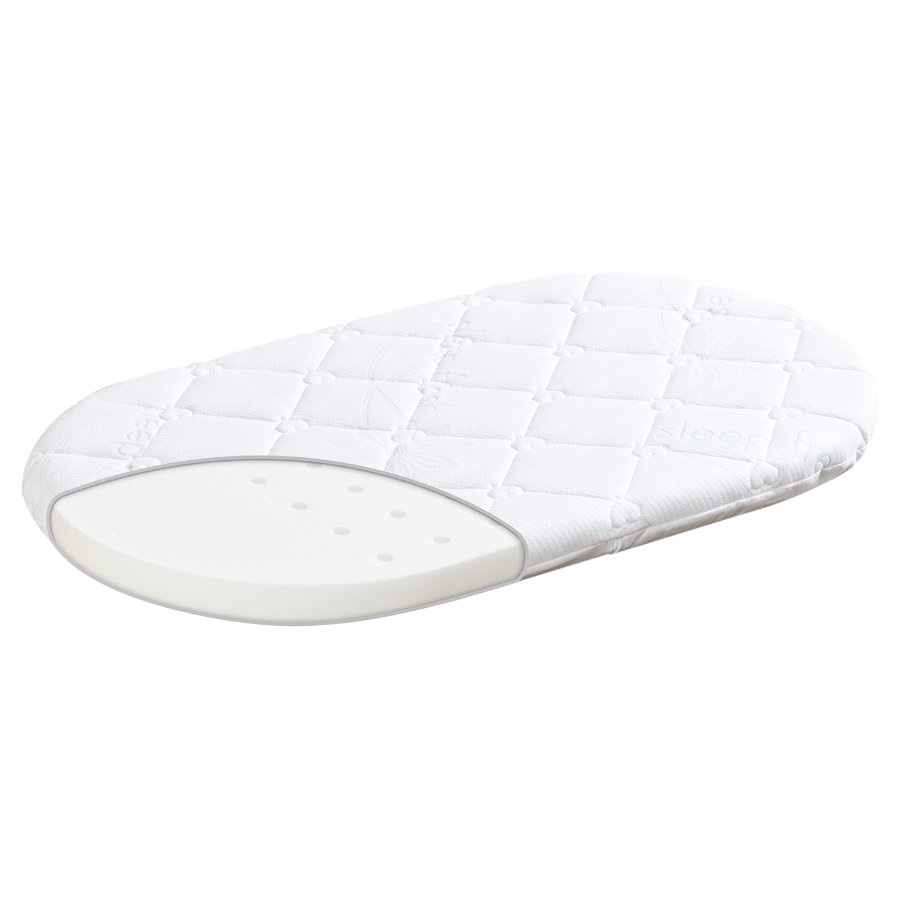 TRÄUMELAND T030505 Materac do wózka Sleep fresh 82 x 46cm