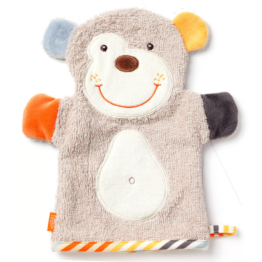 FEHN Monkey Donkey Waschhandschuh Koala