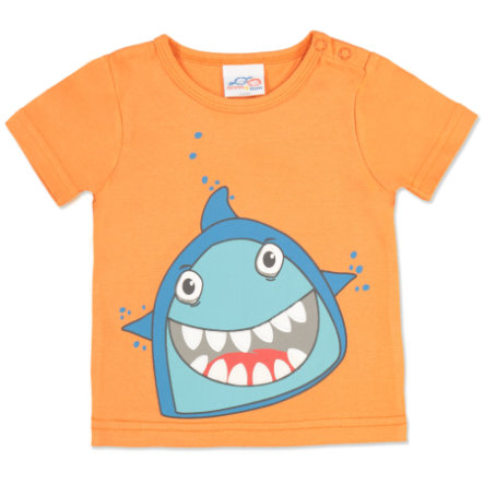 anna & tom Boys T-shirt Big Fish Requin, orange