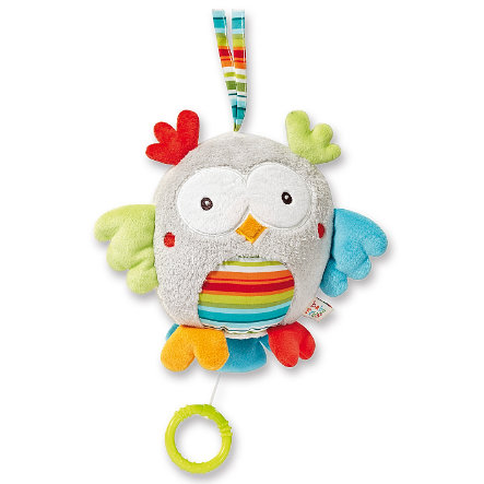 BABY SUN Peluche musicale HOLIDAY, chouette