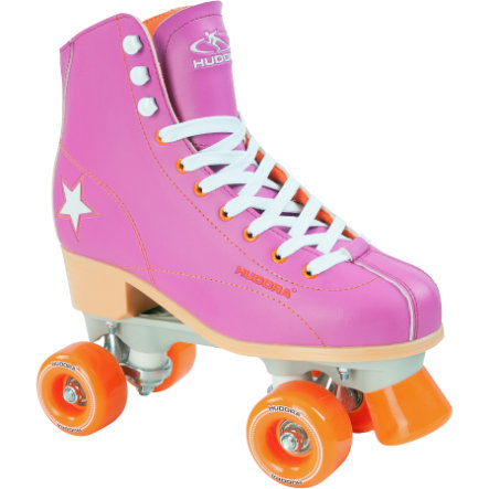 HUDORA Wrotki Roller Disco lila/orange rozm. 41, 13177