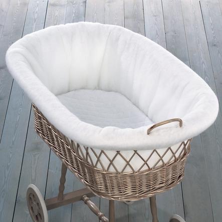 LEIPOLD vnitřní polstrování do proutěného košíku na spaní
