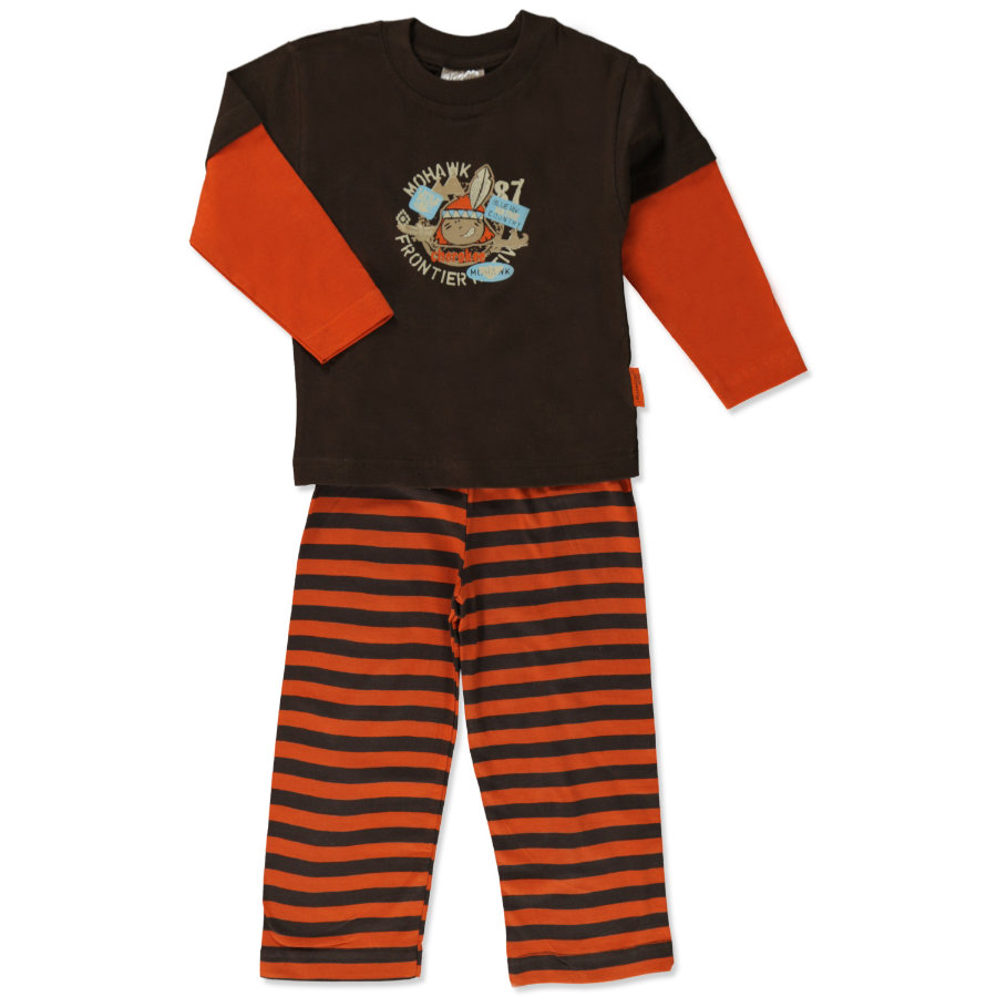 MOONLINE Boys Mini Pyjamas LUTZ brun
