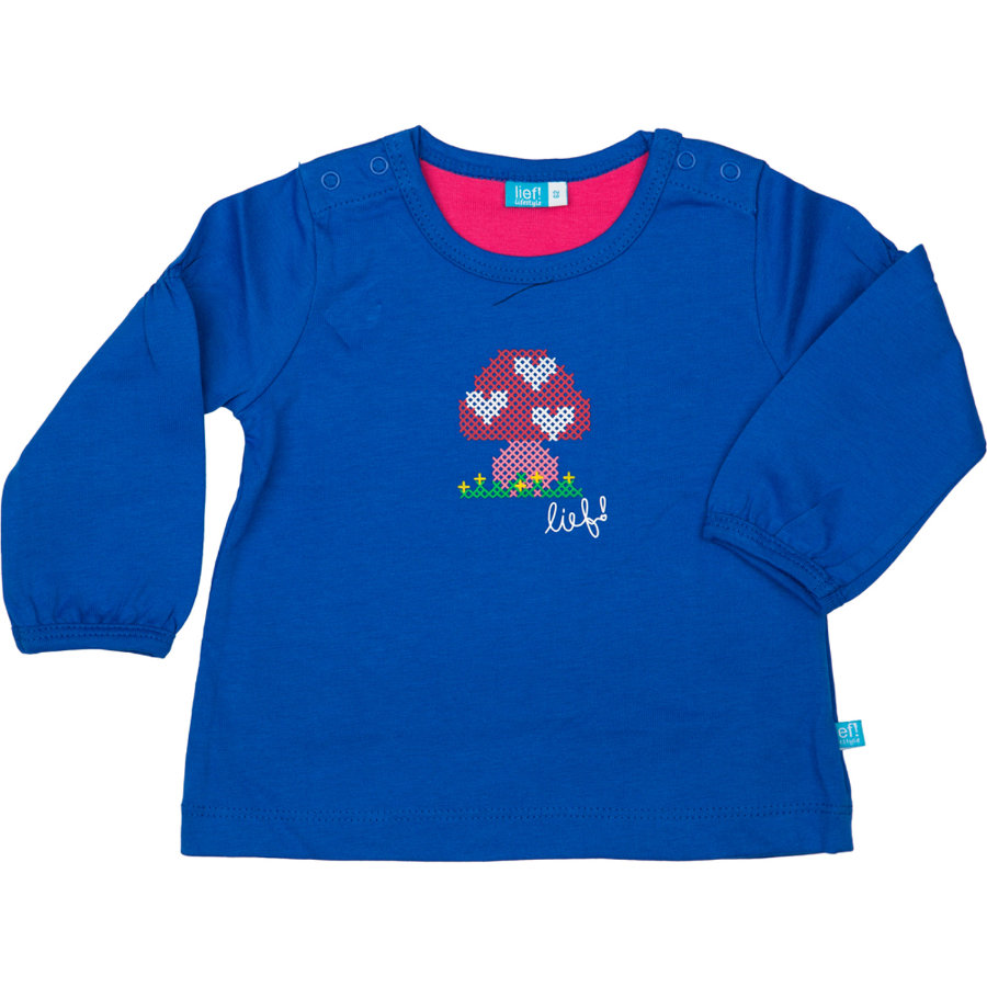 LIEF! Girls Baby Longsleeve strong blue