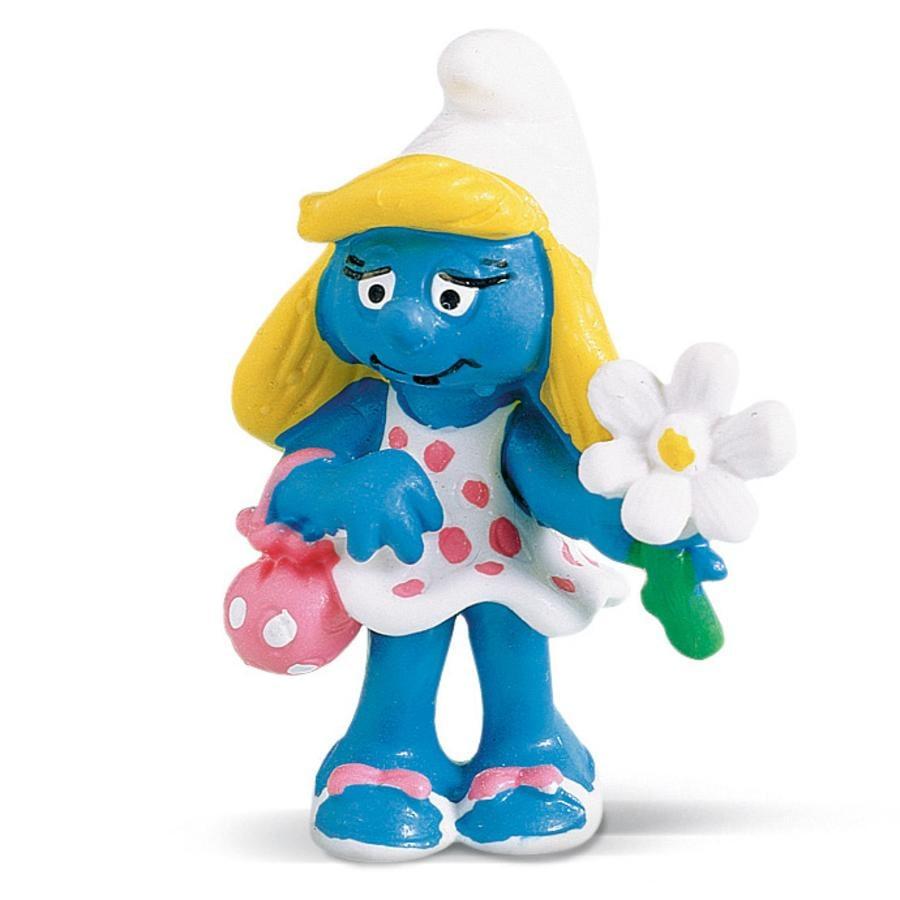 SCHLEICH Smurfina med blomma  20421