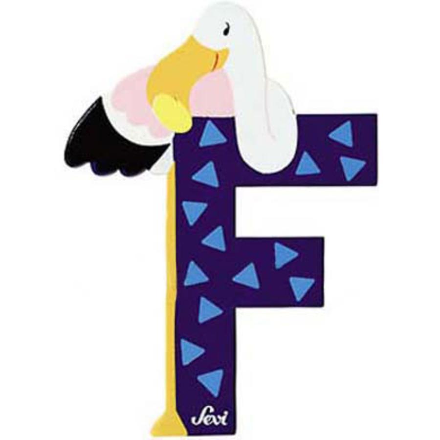 SEVI písmenko se zvířátkem F