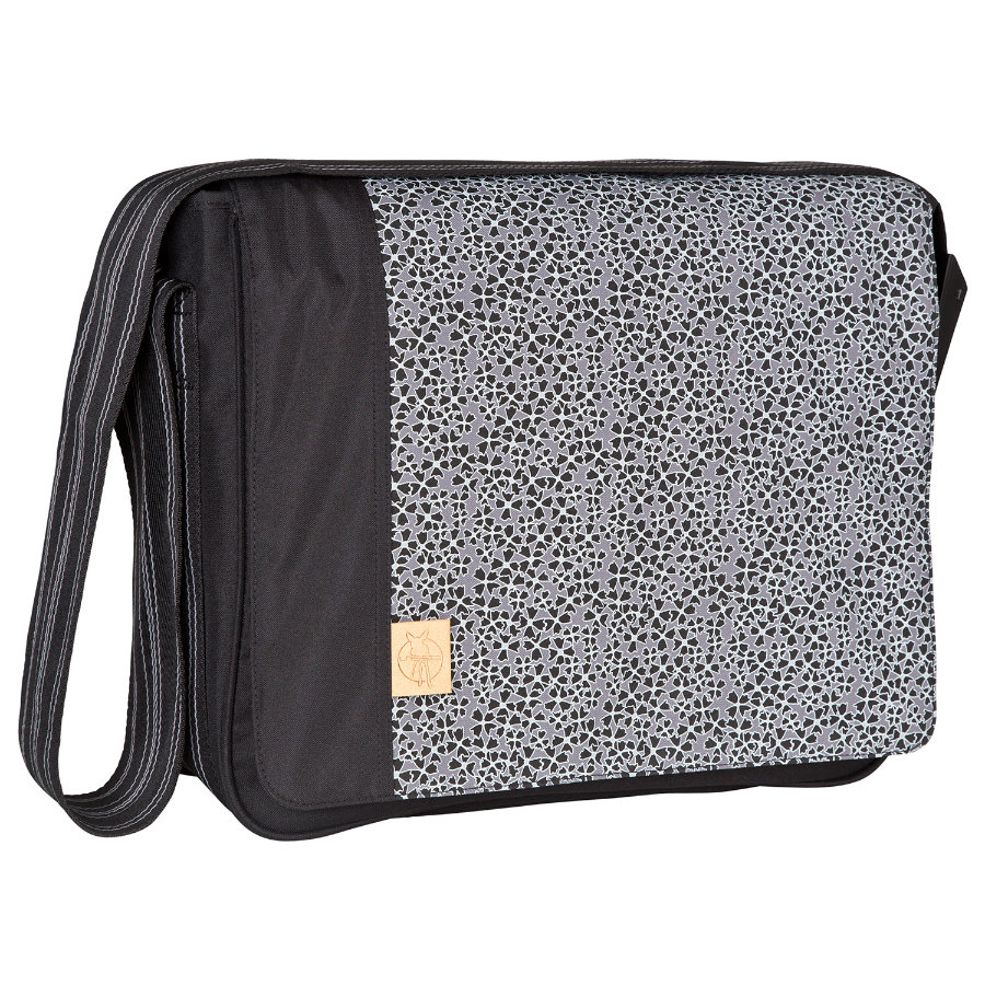 LÄSSIG Wickeltasche Casual Messenger Bag Solid black
