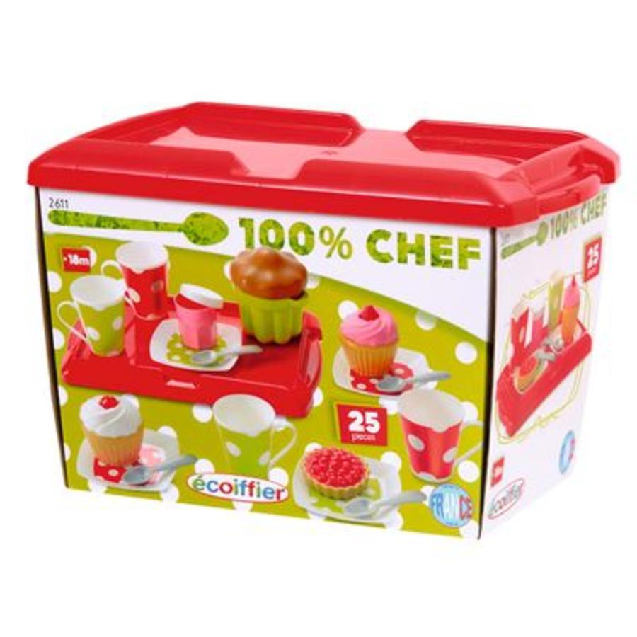 ECOIFFIER Bunte Frühstücksbox