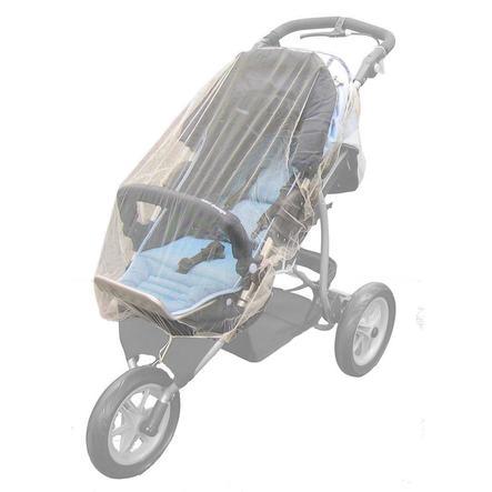REER Mückenschutz für Zwillingswagen & Jogger weiß