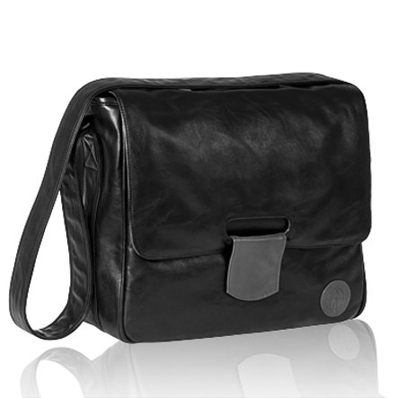 LÄSSIG Changing Bag Messenger Bag Tender black