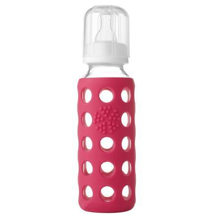 "LIFEFACTORY Glas-Babyflaske ""raspberry"" 250ml"