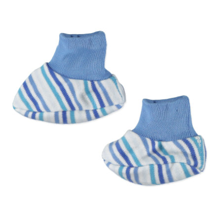 FIXONI Boys Preemie Shoes, stripes blue