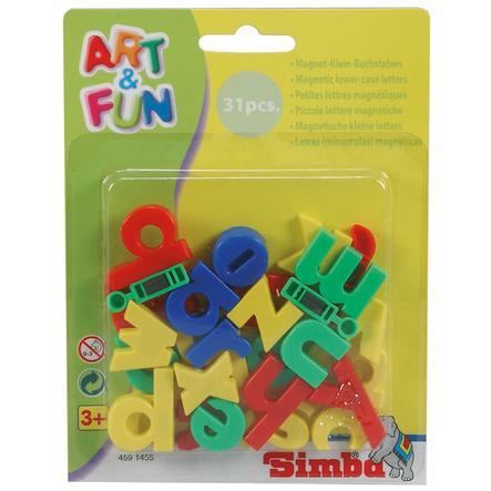 SIMBA Art & Fun Magnetbokstäver