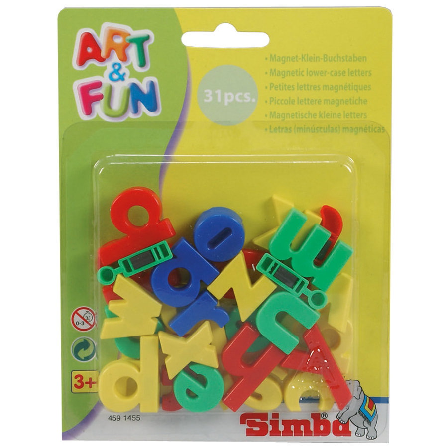 SIMBA Art & Fun Magnetic Lower Case Letters