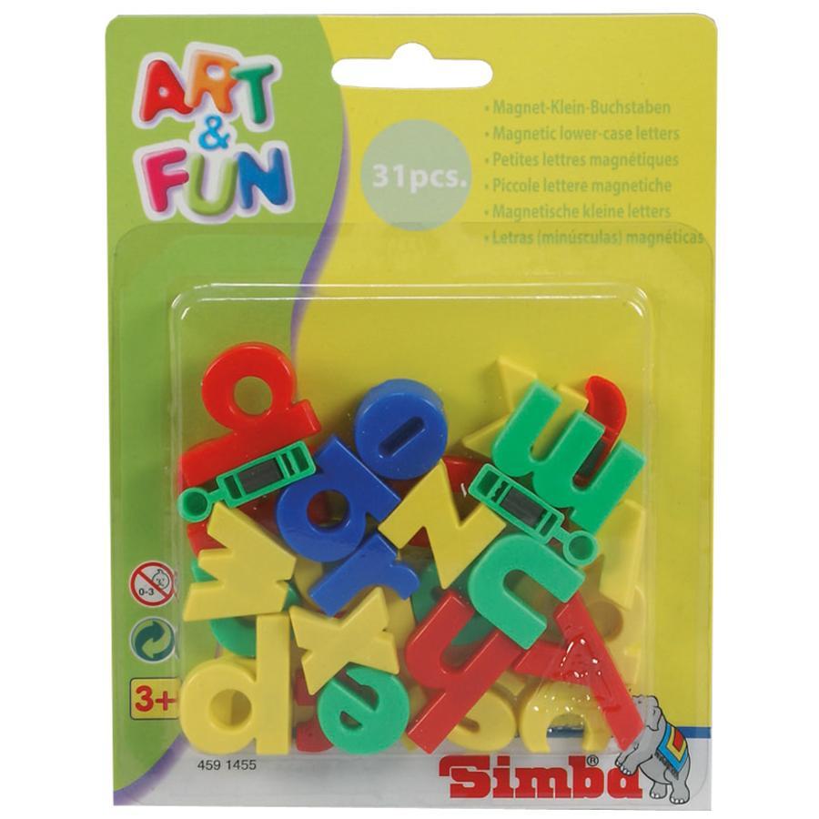 SIMBA Małe literki na magnes Art & Fun