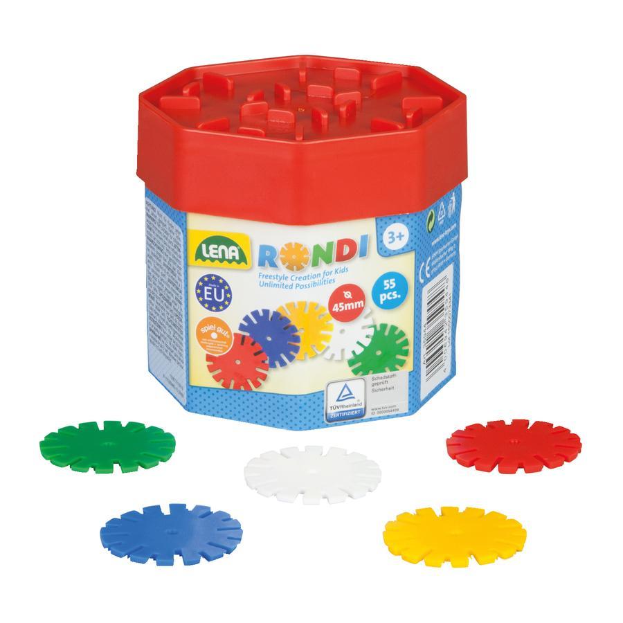 LENA® Rondi byggesett 55 deler