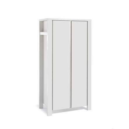 Schardt Kleiderschrank Milano Weiß 2-türig