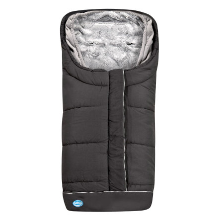 URRA Footmuff Vario 2in1 groß black/grey