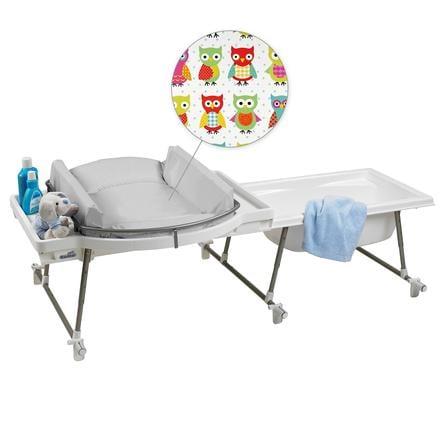 GEUTHER Ensemble baignoire et table à langer Aqualino (4830) couleur 031